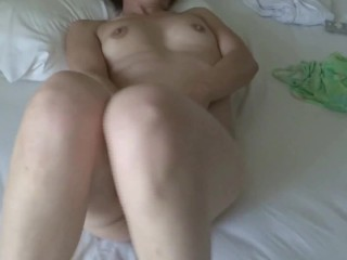MY MATURE WIFE ENJOYS HER HUGE ON HER BEACH VACATION, ORGASMS AND INTENSE GROANS