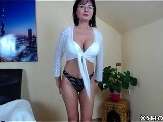 Hot matured MILF Cam dissemble witty