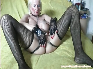 I am eaten away granny relating to pussy piercings increased by manacles
