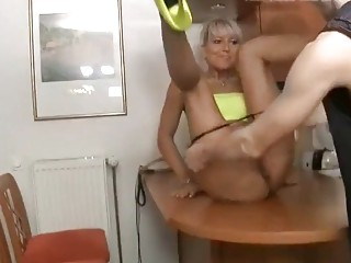 Fuck to orgasm with busty amateur German granny from ForSex.eu