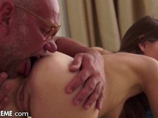 'I Squirted ALL OVER This Old Man's Dick!'