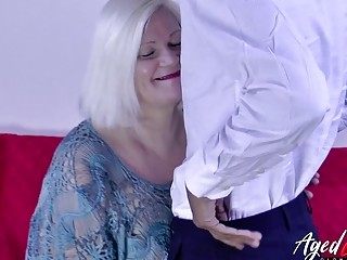 AgedLovE take charge Milf Interracial Hardcore lose one's heart to