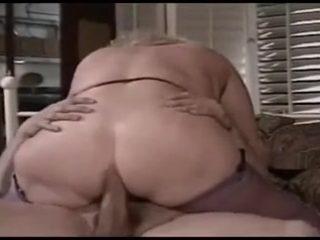 Granny buttfucked