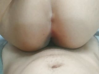 his stepmother discovers him spying on her, and lets him fuck