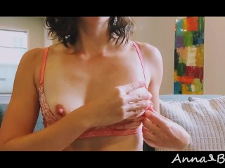 Anna Bound Drips with Ice Cube Temperature Play