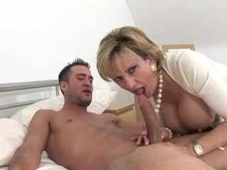sexy milf rides young stud's cock