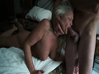 Adult blonde gets her moist mouth fucked approximately