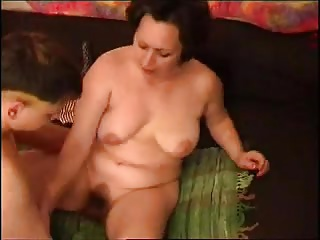 Russian Hairy Mature R20