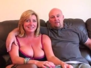 Wonderful blonde mature (high boots)