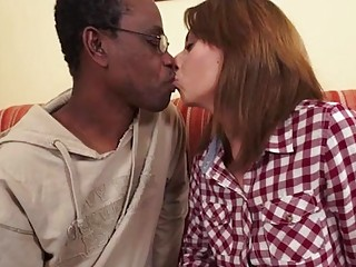 Wanessa gets rubbed by mature black guy