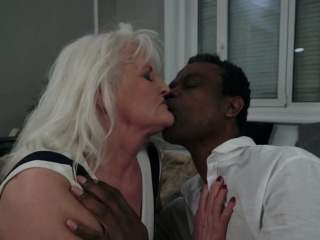 Bigtit grandma jizzed helter-skelter Canadian junkdiscretion at the end of one's tether bbc