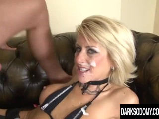 Cathy Inez anal invasion multiracial gang-fuck