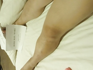 AMATEUR CHINESE MILFS WITH body stockings