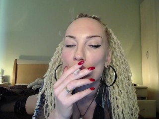 Smoke fetish. Inhale and repeat this video over and over again