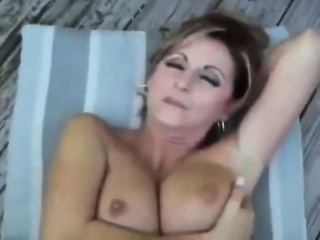 Cumshot on her tits