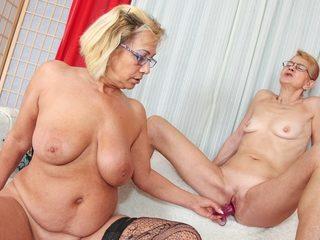 Milli & Beata A in My Grandma's A Lesbian #03 Video