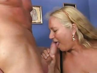 granny bitch in a reverse anal piledrive