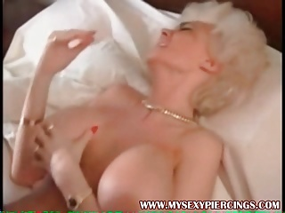 My Sexy Piercings MILF with pussy rings anal