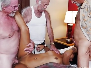 Old man bondage Staycation with a Latin Hottie