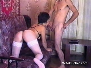 Slender and mature brunette is ready to be a star in their homemade adult video