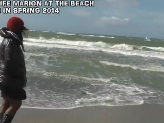 Slutwife gang-fucked by strangers at the beach