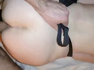 54 YO MILF FUCKS A YOUNG MAN AND SWALLOWS HIS SPERM 2of2
