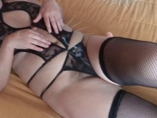 MATURE MOTHER, CUMSHOTS IN HER HAIRY PUSSY AND BIG ASS