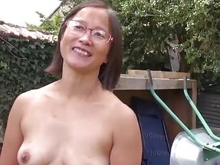 asian granny gangbang porn