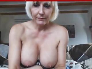 Horney Blonde Mom