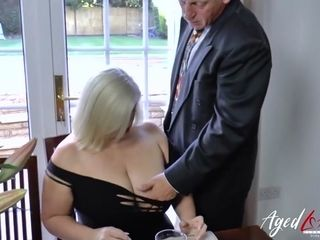 AgedLovE Lacey Starr coupled with Paul Hardcore