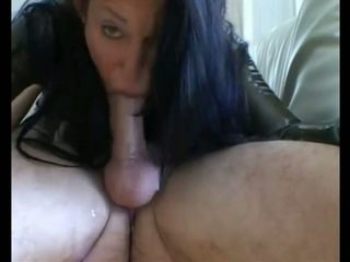 This horny mature slut is a skilled woman who knows how to deepthroat