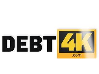 DEBT4k. Stallion is glad to fuck the blonde debtor