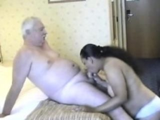 Old man having sex black mature Pamella from 1fuckdatecom