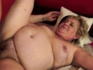 Bigtitted gilf banged surpassing along to verge upon