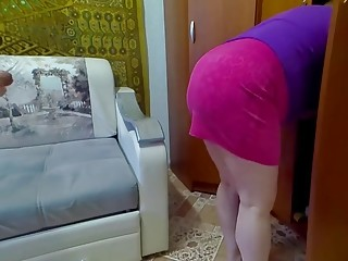 I finished in anal with a housekeeper