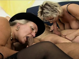 Three luscious and lonely mature ladies exploring their anal desires