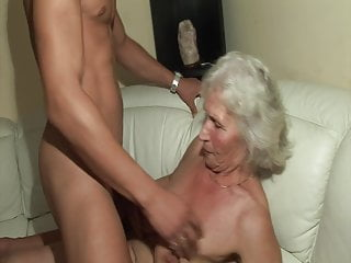The first-ever time he humps a super-steamy grandma!