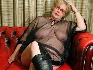 Big Mama Is Ready To Get A Spanking - MatureNL