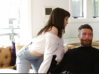 Jenna Noelle Helps Her Sister's Husband Release The Stress
