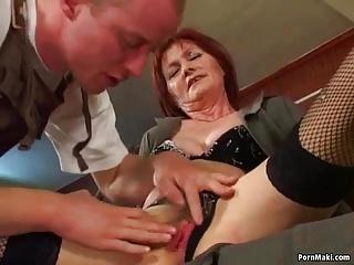 Granny Ass Fucking