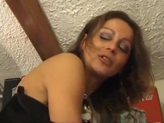 Extreme french mature foursome