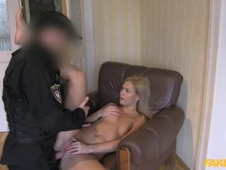 Cop's cock for a cheating MILF Penelope Ferre