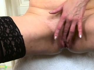 'OLDNANNY Horny mature lady willing to strip down for you'