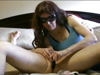 Wife works my prostate