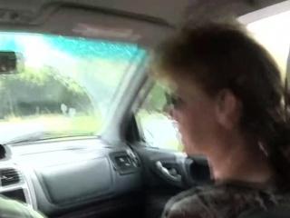 Slutty German grown up rides blarney
