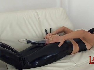 Latex promoter pumping anal