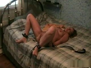 Wifey gets bound up and plumbed rock-hard
