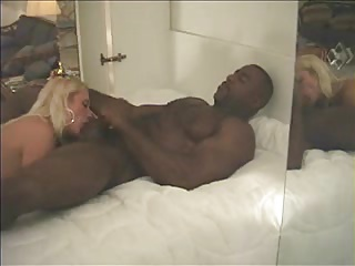very sexy mature sucks black friend and swallows