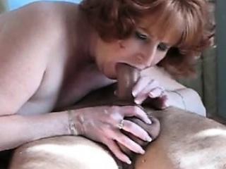 Hot redhead mature cougar sucking  Ruthann from 1fuckdatecom