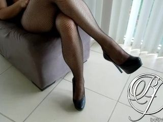 'Stepmom MILF wearing a black dress loves to wear sexy lingerie underneath, want to see?'